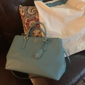 Tory Burch Double Robinson Tote